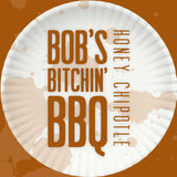 Bob's Bitchin' BBQ - Honey Chipotle sauce - bottle label