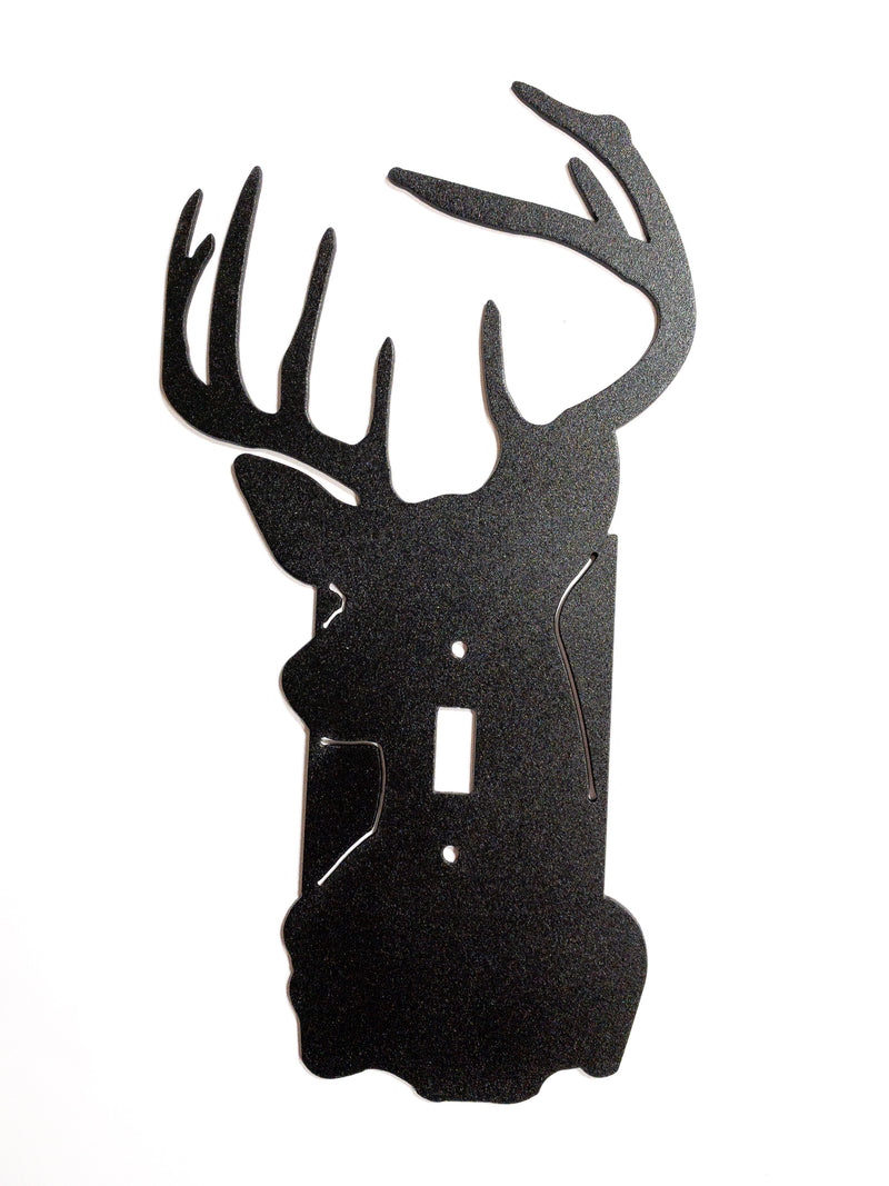 Deer Head Light Switch Cover