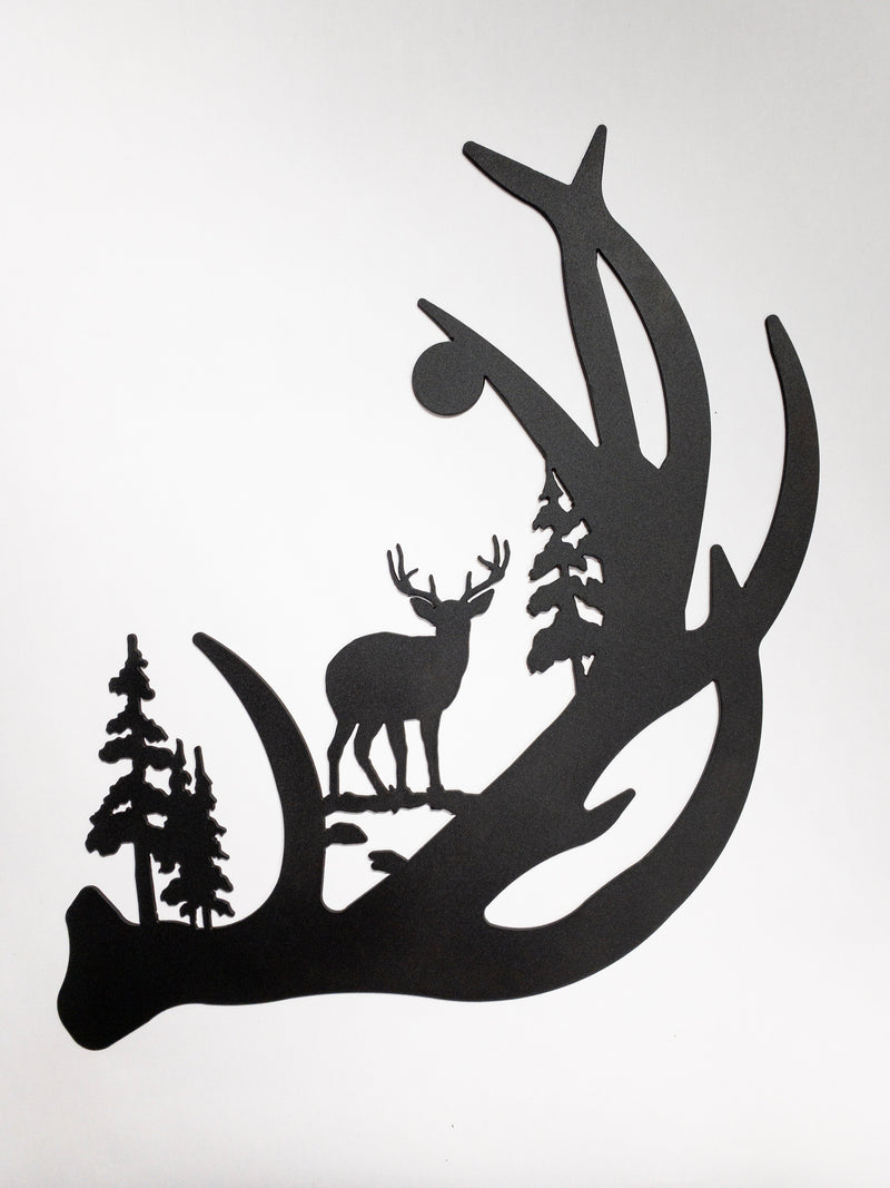 Antlers/Tree/Moon/Deer