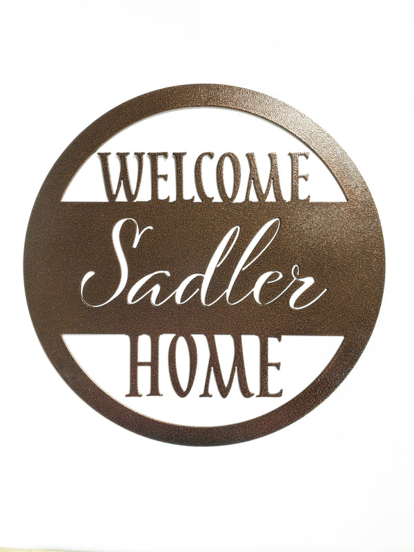Round Welcome Home