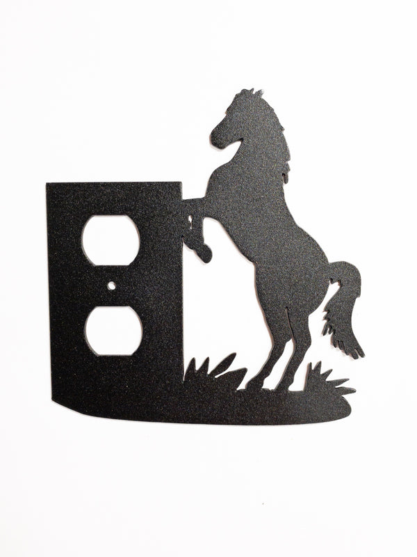 Horse Outlet Cover