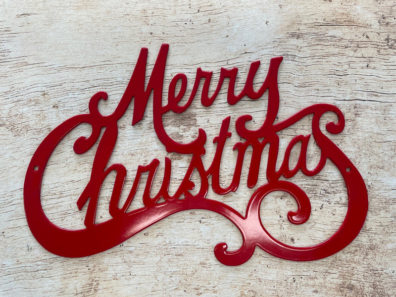 Merry Christmas Large Yard Sign