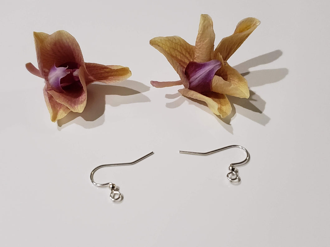 Silver Plated Fish Hook Earring
