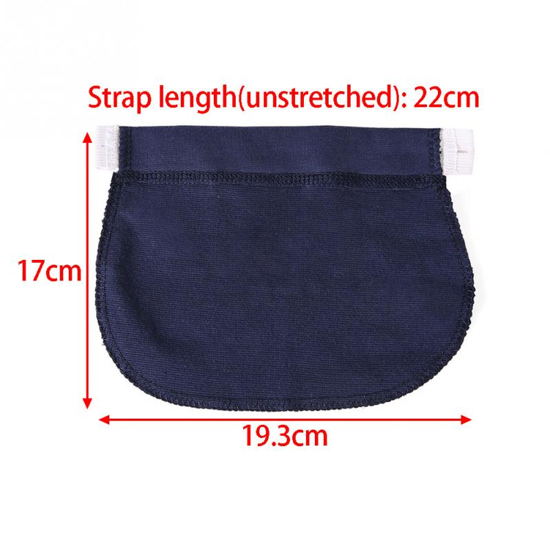 Maternity Waistband Elastic Extender Soft Pants Belt Extension Buckle Button Lengthening Pregnant Women Pregnancy Adjustable