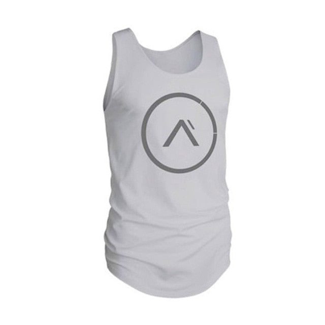 Vest bodybuilding clothing and fitness men undershirt tank tops tops golds men undershirt