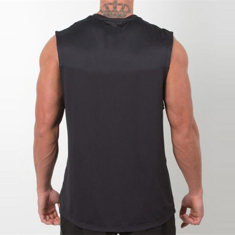 Brand Mens Tank Tops Sexy Fitness Bodybuilding Breathable Summer Singlets Slim Fitted Men's Tees Muscle Sleeveless Shirt