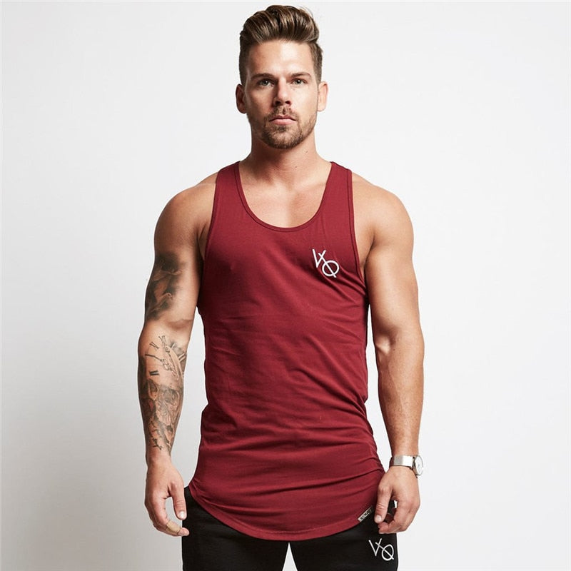Mens sleeveless vest Summer men Tank Tops Clothing Bodybuilding Undershirt Casual Fitness tank tops tees
