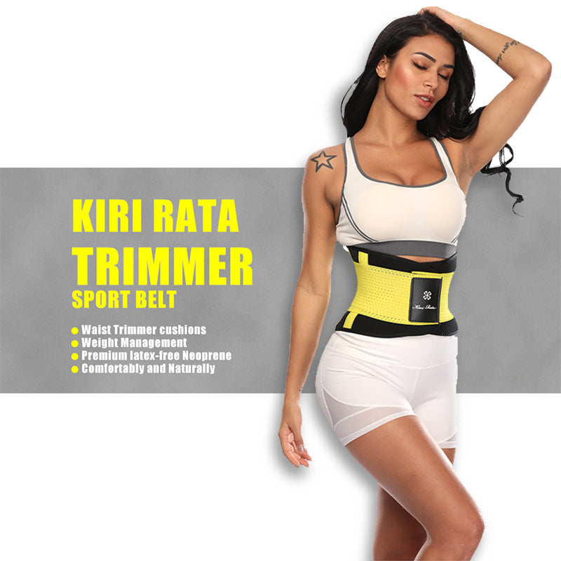 Fitness Belt Hot Body Shaper Waist Trainer Trimmer Corset Waist Belt