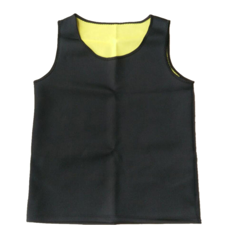 Men's Sauna Vest Ultra Sweat  Shapers Shirt Man Black Waist Cincher Men's Shapers Slimming Waist Trainer Corsets shapewear
