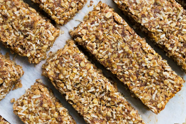 Banana Coconut Protein Bars