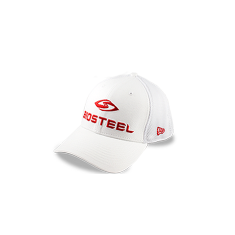 BIOSTEEL NEW ERA 39THIRTY HAT - White
