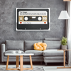 Personalized Cassette Tape Canvas Wrap - Your Heartbeat