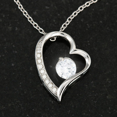 "Son To Mother - ""Best Among The Rest"" Forever Love 3D Heart Necklace"