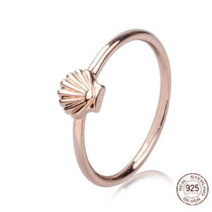 SEASHELL RING 925 Sterling silver