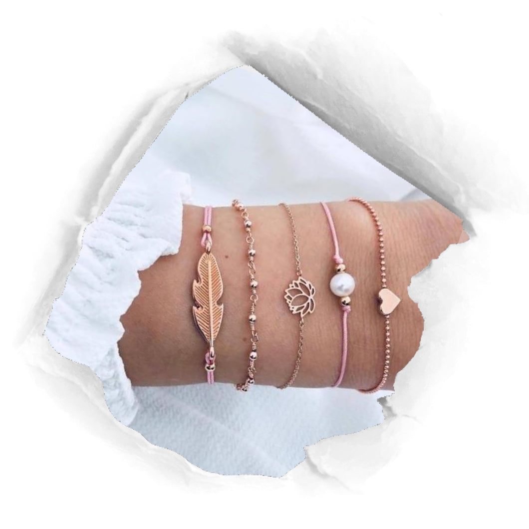 GOLD BEACH Bracelet Set