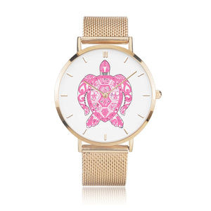 MOSAIC PINK TURTLE Watch