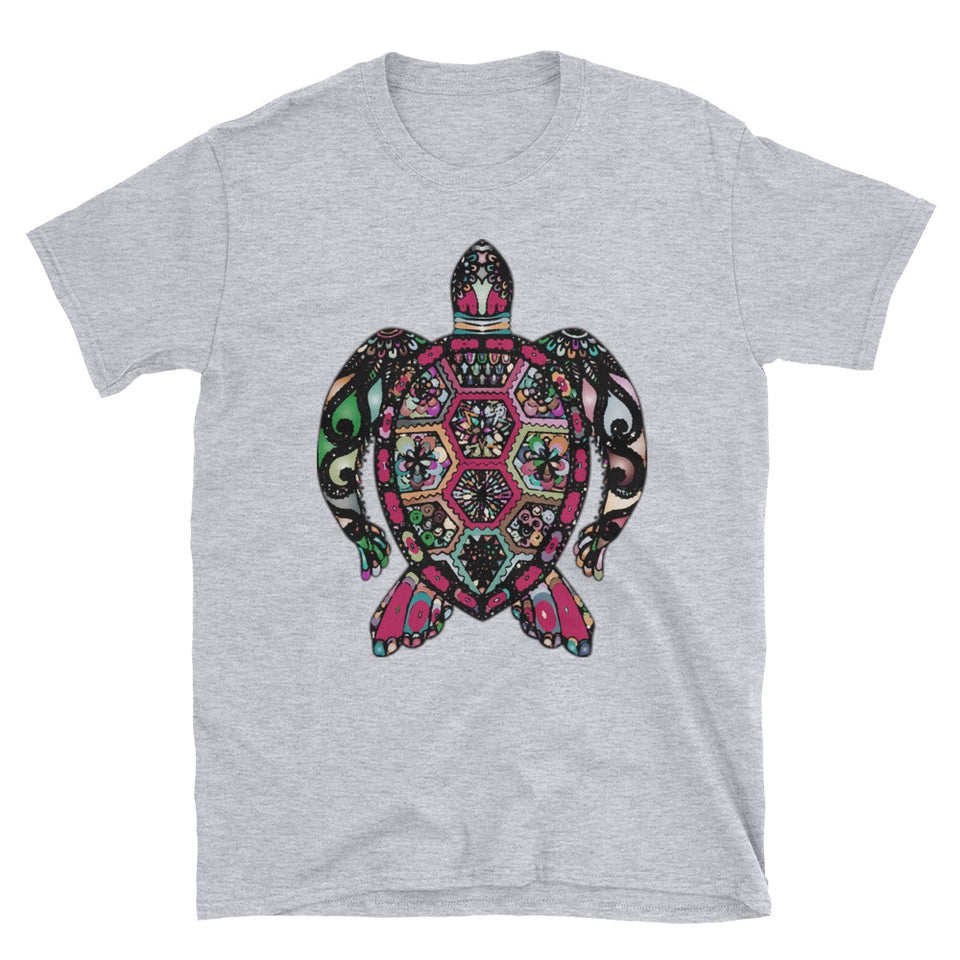 Turtle Mosaic Shirt Women