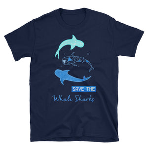 Save Whale Shark Shirt Women