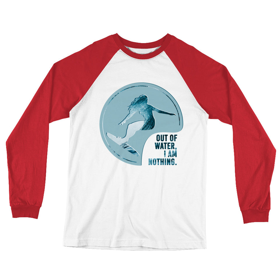 OUT OF WATER Raglan