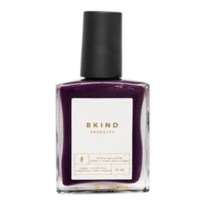 bkind nail polish, eggplant cream, hazy lilac, bkind products,