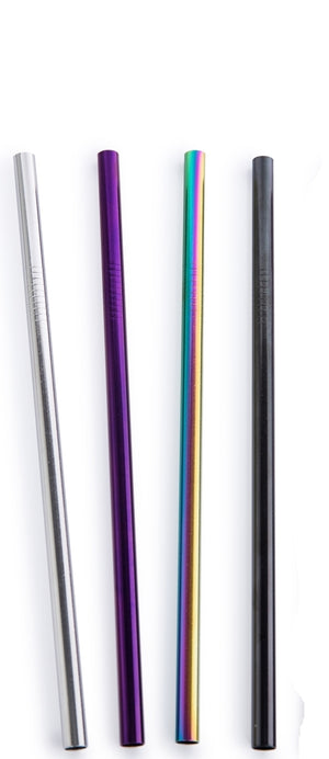 Open image in slideshow, Stainless Steel Straws