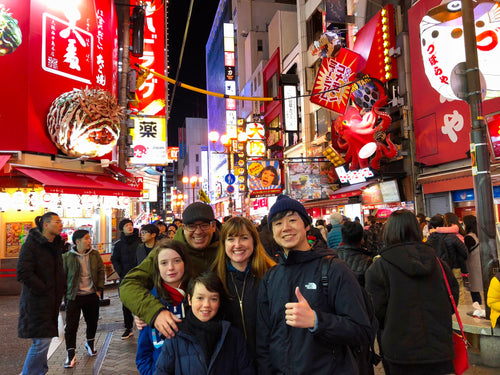 Namba Night Walking Tour in Osaka