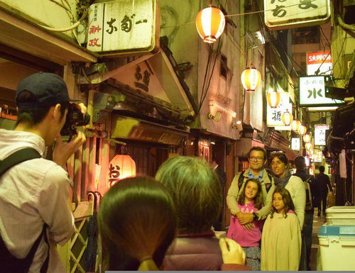 1 hour walking tour in local area of Shibuya