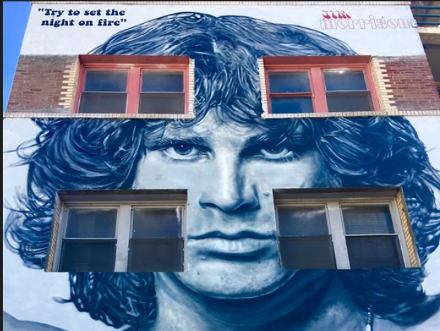 Jim Morrison still lives in Venice