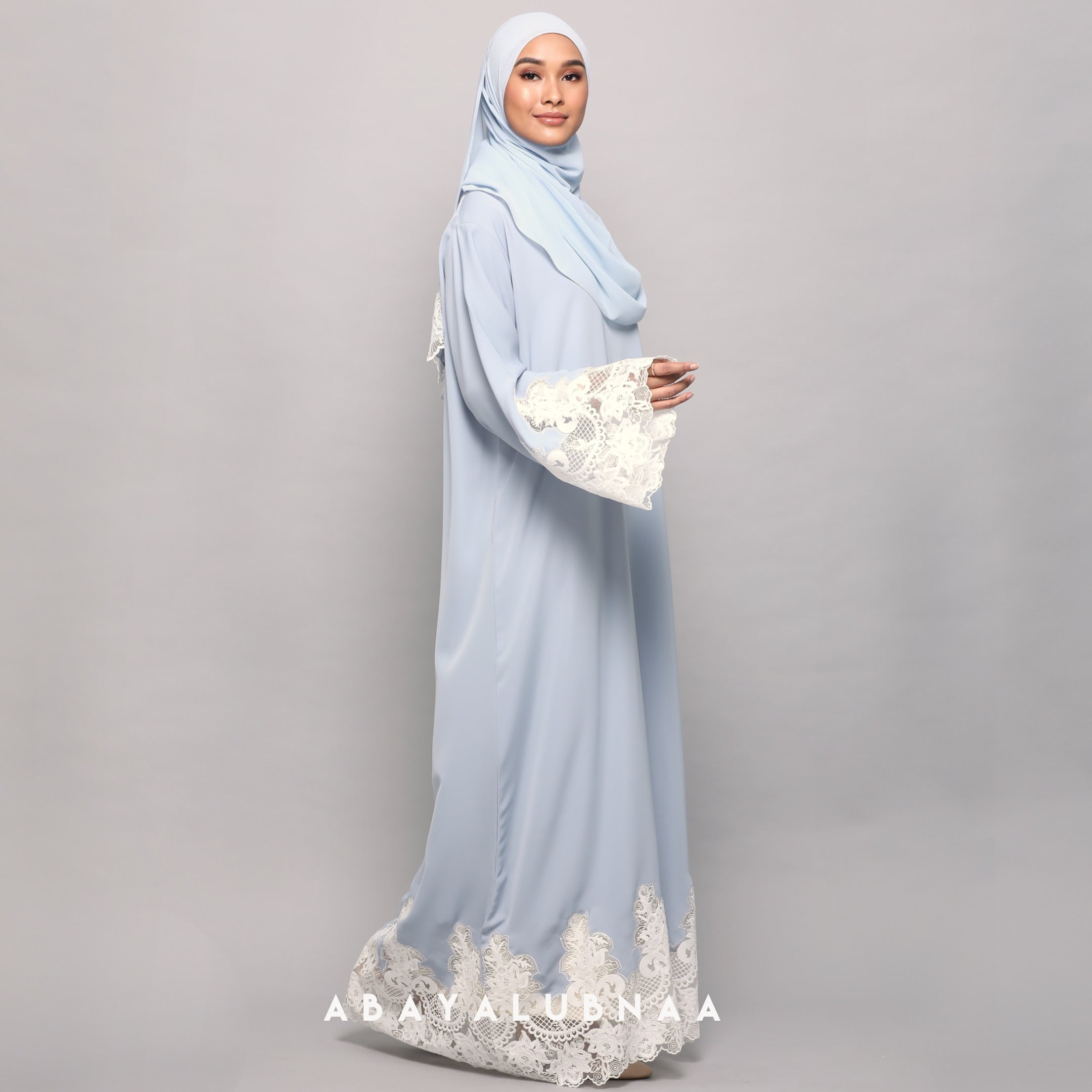 Khadija Abaya - Powder Blue