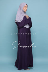 Senorita Abaya - Royal Purple / SLIM CUT
