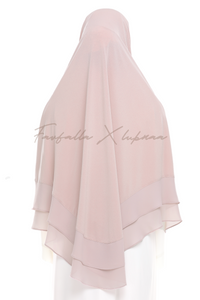 Khimar Zohra - Baby Pink (S Size)