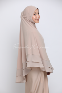 Khimar Zohra - Nude / Small Size (S)