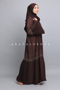 Lily Pleated - Dark Brown