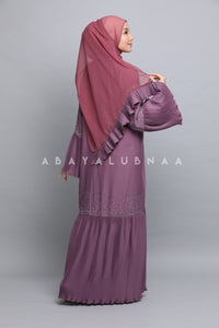 Lily Pleated - Dusty Purple