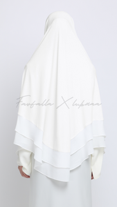 Khimar Zohra - Winter White