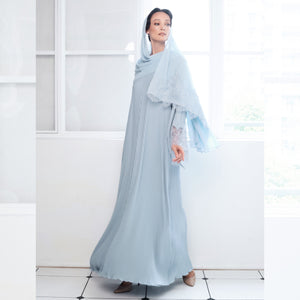 Senorita Lace - Powder Blue (NEW) #lubnaalebaran2021