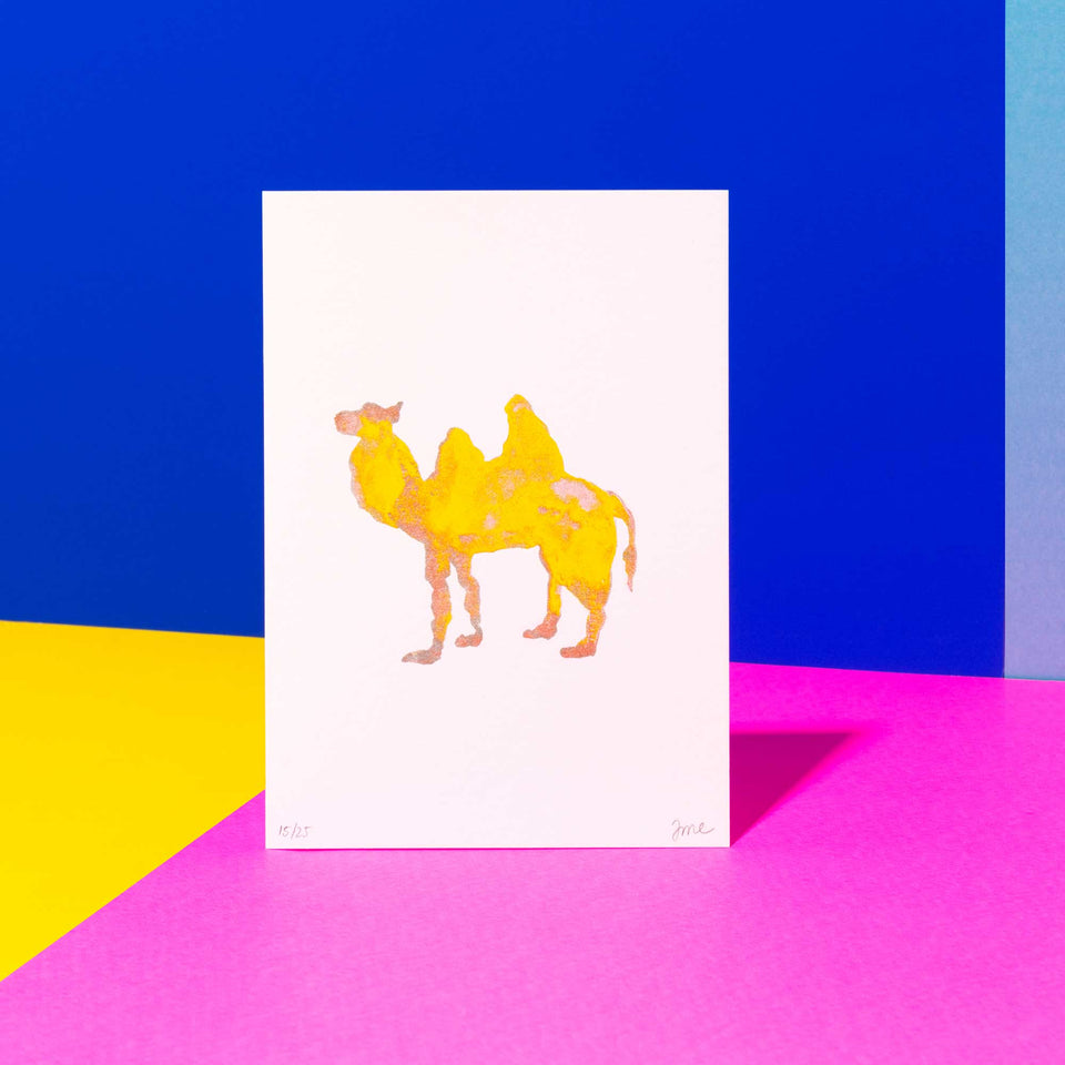 Riso: Camel in the Sun