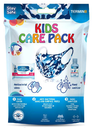 Kids Care Pack - Blue Camo