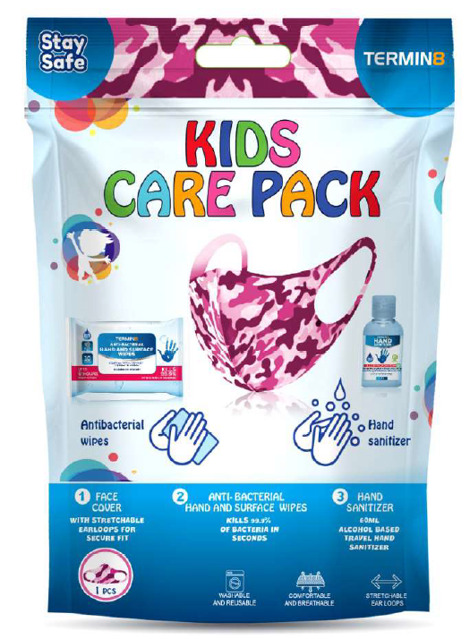 Kids Care Pack - Pink Camo