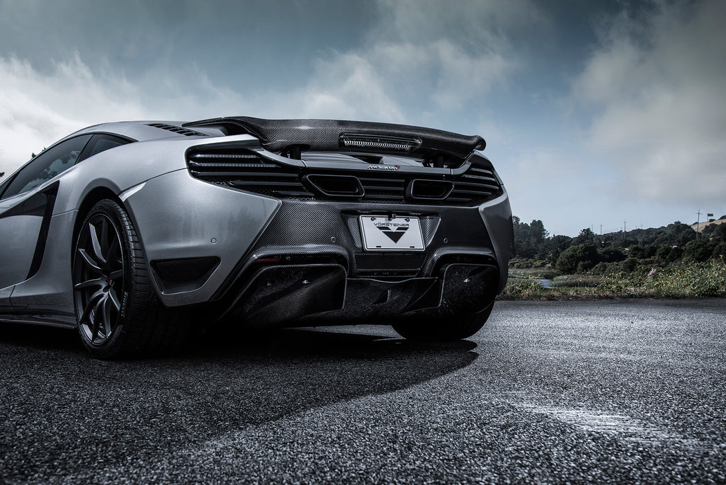 Vorsteiner V-MC Aero Rear Bumper Cover with Carbon Fiber Accents McLaren MP4-12C