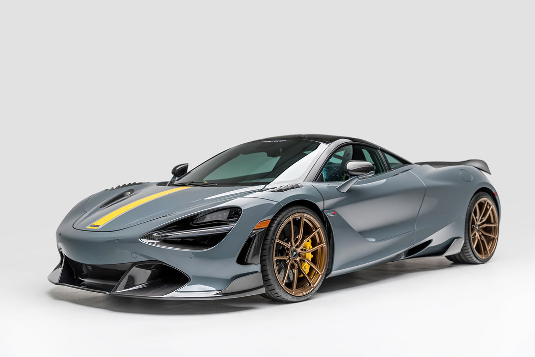 Vorsteiner Silverstone Edition Aero Front Fenders with Integrated Vents Carbon Fiber McLaren 720S
