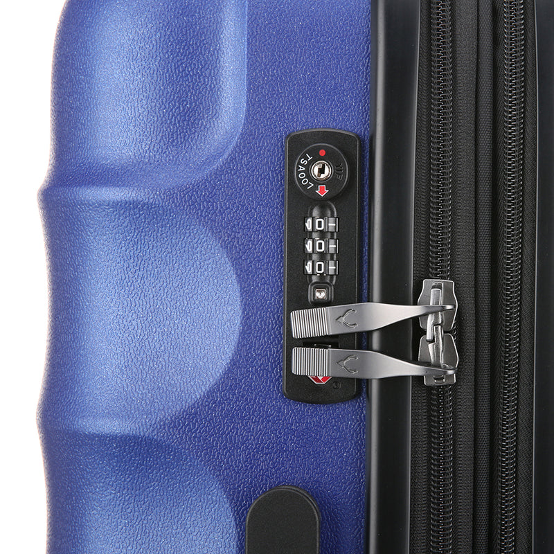 Juno Metallic Hardcase Large - Blue