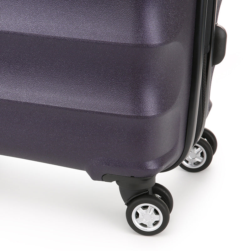 Juno Metallic Hardcase Medium - Aubergine