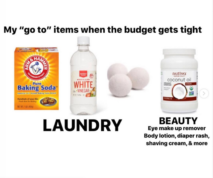 Go To Items When Budget Gets Tight