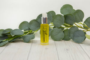 Organic Frankincense and Jojoba oil Face Serum-Eucalyptus Mint