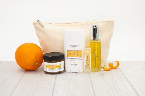 Sweet Citrus Collection Set with Carry Bag