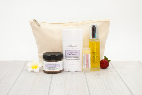Jasmine Bloom Collection Set with Carry Bag