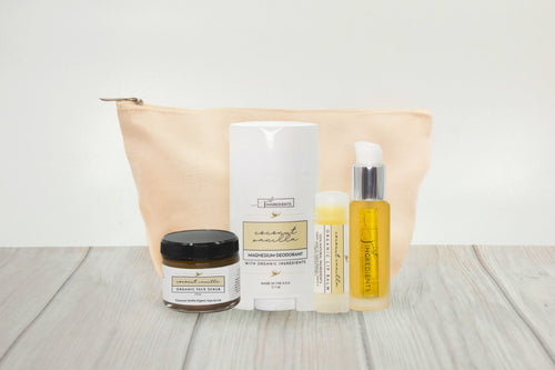 Coconut Vanilla Collection Set with Carry Bag