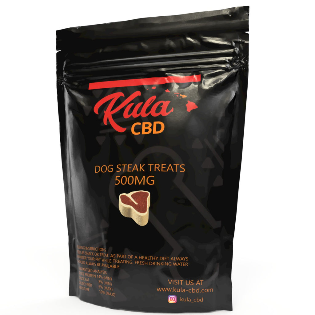 KULA CBD STEAK FLAVORED DOG TREATS - Kula Hawai'i