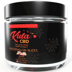Kula CBD Watermelon Slices - Kula Hawai'i, CBD candy, CBD Maui, CBD Gummies